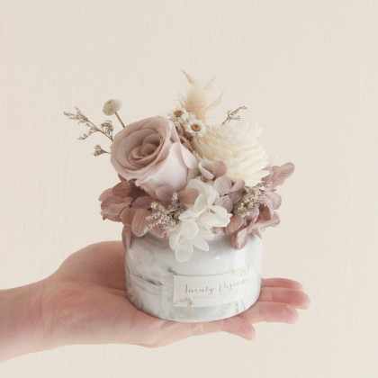 Aurelia Preserved Flower Vase