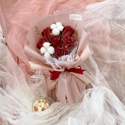 Amelia Soap Flower