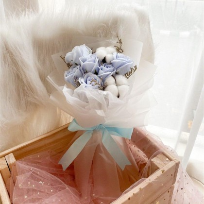Bailey Soap Flower