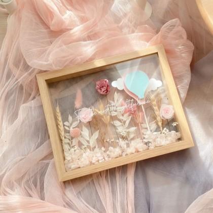 Elyse Preserved Flower Frame
