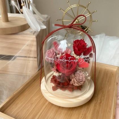 Anerly Preserved Flower Bell Jar