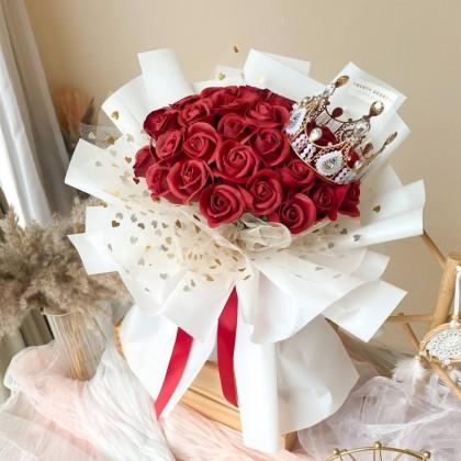 Anthea Soap Flower