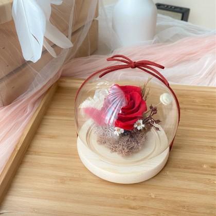 Helen Preserved Flower Globe