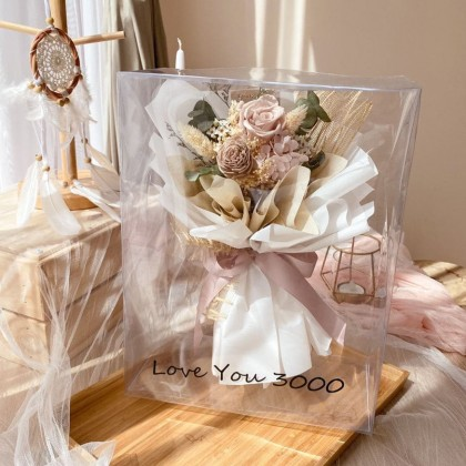Ryann Preserved Flower Bouquet (Nationwide Delivery)