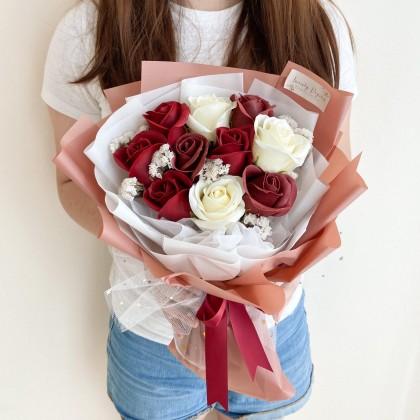 Rachel Soap Flower (Nationwide Delivery)