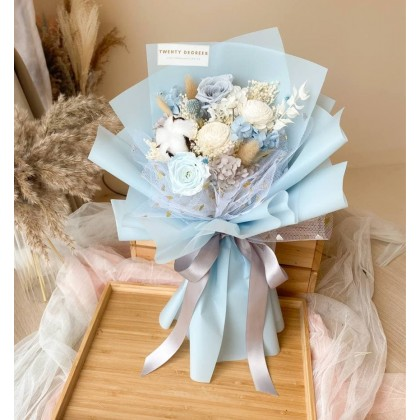 Yara Preserved Flower Bouquet (Nationwide Delivery)