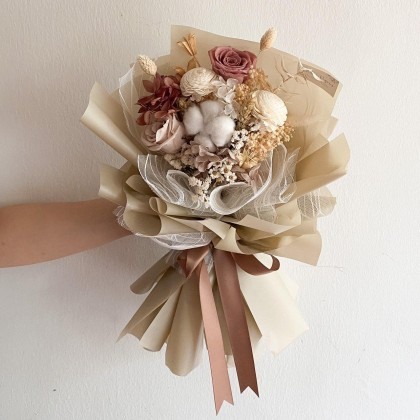 Anya Preserved Flower Bouquet (Nationwide Delivery)