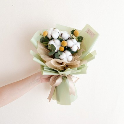Nadia Preserved Flower Bouquet (Nationwide Delivery)