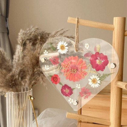 Freya Pressed Flower (Nationwide Delivery)