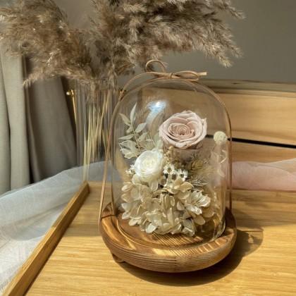 Novah Preserved Flower Bell Jar