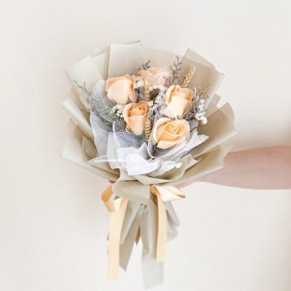 Nicole Soap Flower (Nationwide Delivery)