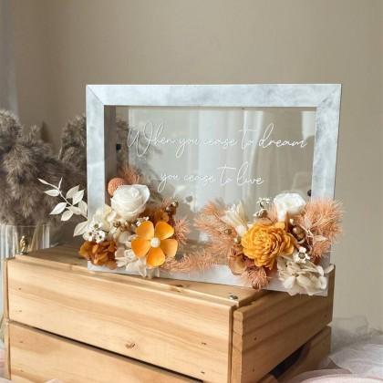 Ember Preserved Flower Frame