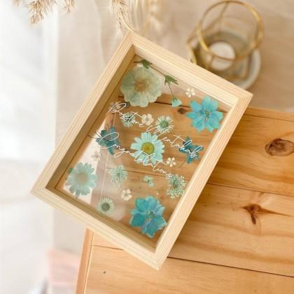 Juliette Press Flower Frame (Nationwide Delivery)