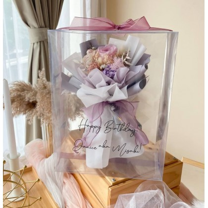 Cleo Preserved Flower Bouquet (Nationwide Delivery)